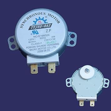 8183954 Motor para plato giratorio del microondas Whirlpool ...
