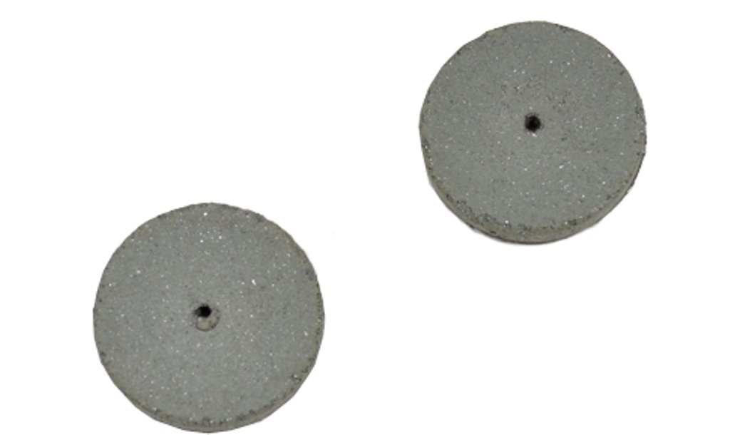 Cratex #59C Rubberized Abrasive Wheels 5/8X1/4 Coarse Box of 100 by Cratex (Image #1)