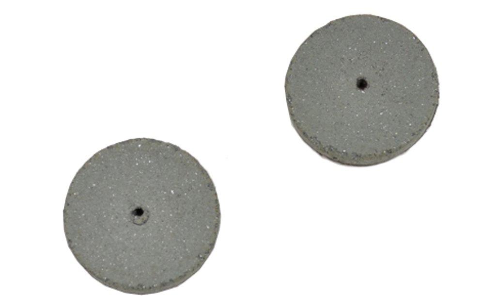 Cratex #59C Rubberized Abrasive Wheels 5/8X1/4 Coarse Box of 100