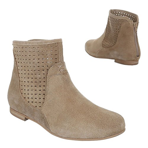 Design Bootees brown Women's Ital Brown Light pSW4UUf
