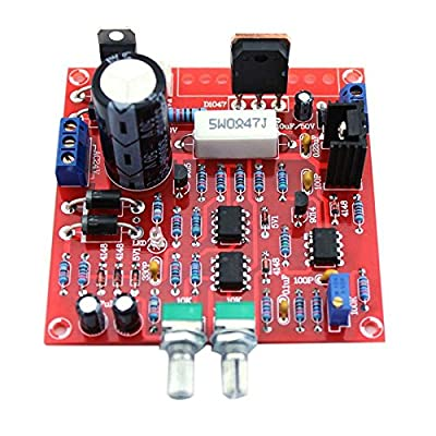 Phoneix 0-30V 2mA-3A Adjustable DC Regulated Power Supply DIY Kits LED Display Variable