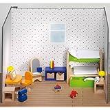 Goki - 51746 - Mobilier de Poupée - Meuble de Poupée - Chambre des Enfants