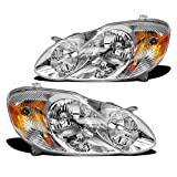 Best OEM headlamp - For 2003-2008 Toyota Corolla Housing Clear Lens OEM Review