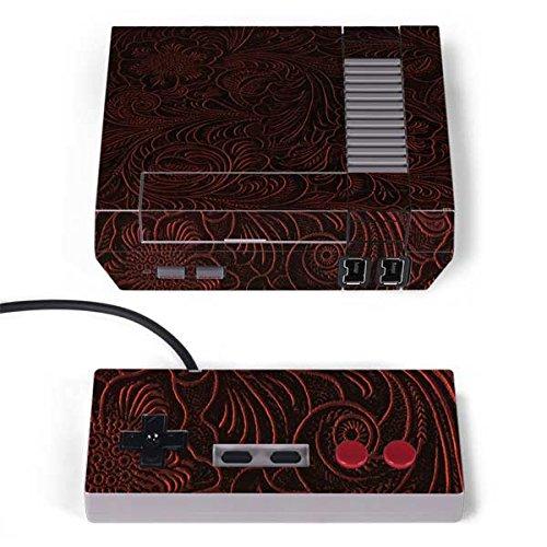 Skinit Floral Patterns NES Classic Edition Skin - Botanical Flourish Sepia Design - Ultra Thin, Lightweight Vinyl Decal -