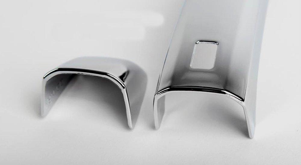 T/ürgriffmulden Abdeckung Kappen Zubeh/ör f/ür Audi Q3 Q5 Chrom T/ürgriffblenden