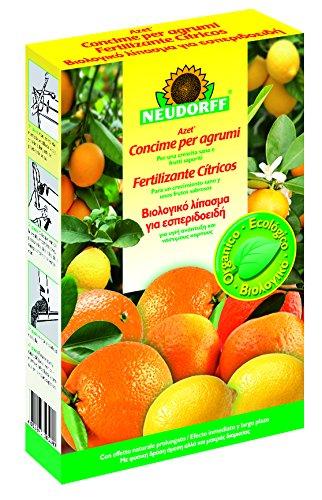 Neudorff Azet–Fertilizzante agrumi, 1kg, 14,7x 4,5x 23,2cm, colore: giallo 81334
