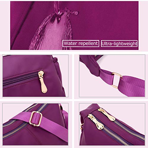 Messenger Medium Ladies Shoulder Bag Women Crossbody for Bags Purple Handbags Purses Bags fSrnFfzqB