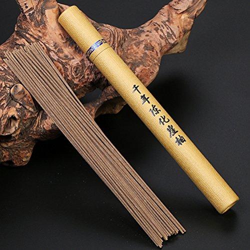 (Datingday Imported Chinese Retro Wormwood Sandalwood Incense Stick for Yoga Chakra Sleep Health 20g / Unit (Cedar)
