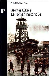Le roman historique par Georg Lukàcs