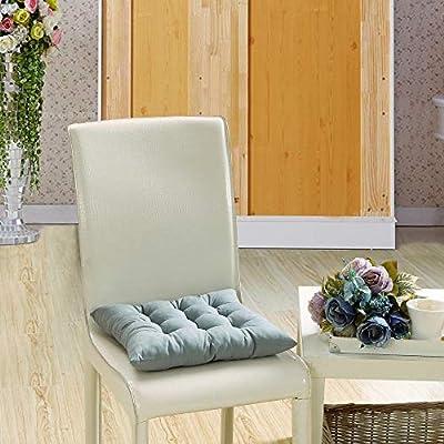 Yu2d Indoor Outdoor Garden Patio Home Kitchen Office Chair Seat Cushion Pads Gray(Gray) : Industrial & Scientific