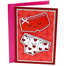 Hallmark Shoebox Funny Humor Valentine's Day Greeting Card for Husband, Wife, Spouse, Boyfriend, Girlfriend, or Partner (Underwear Joke)