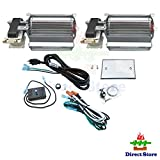 Direct store Parts Kit DN120 Fireplace Blower Kit BLOTSDV BLOTBLDV for Monessen Vermont Majestic