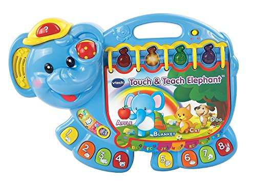 VTech Kids Book Music 150 Songs Touch and Teach Elephant Book Music Toys