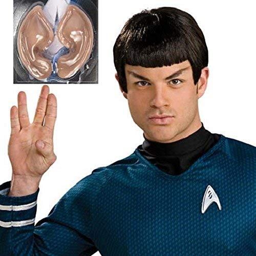 Star Trek Spock Wig and Ears Set (Adult) -