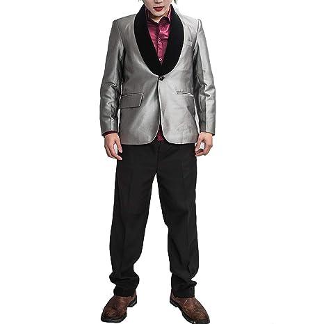 Nexthops El Joker Disfraces para Hombres Traje Completo Camisa Violeta  Cosplay de Escuadrón Suicida Adultos Disfraz de Alta Calidad  Amazon.es  Ropa  y ... 2bbd74affb0