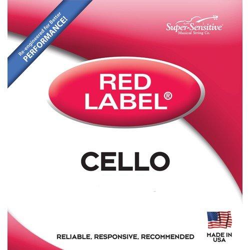 Super Sensitive Red Label 6147 Cello C String, 4/4
