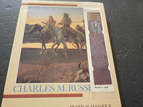 Charles M. Russell by Peter Hassrick with Tapestry Bookmark HC 1989