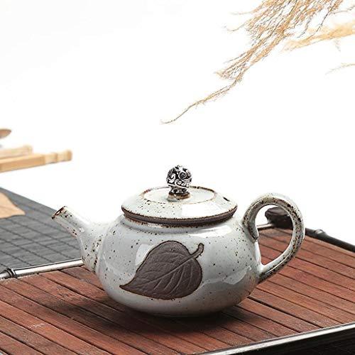 Exquisite Tea Cups Saucers Set Set Coffee Cup Silver Teapot Tea Pot Manual Tea Filter Wood Teapot Household Kitchen 200ML by Kinue (Image #4)