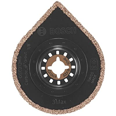 Bosch OSC212HG 2-1/2-inch Hybrid Grout and Tile Blade - 3Max