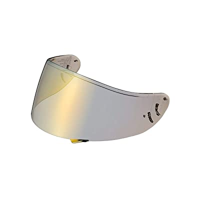 Shoei Spectra Shield with Pinlock Pins CWR-1 Street Motorcycle Helmet Accessories - Gold - for RF-1200: Automotive