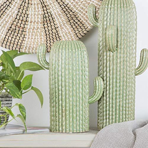 Desconocido JARRÓN Cactus GRES 24X13X31