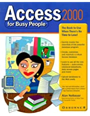 Access 2000 for Busy People