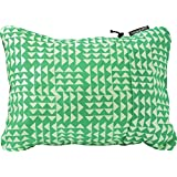 "Therm-a-Rest Compressible Travel Pillow for Camping, Backpacking, Airplanes and Road Trips, Pistachio, Small: 12"" x 16"""
