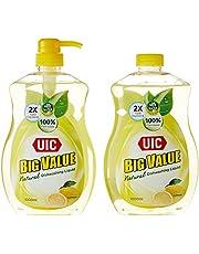 UIC Big Value Dishwashing Liquid Pump Twin Pack