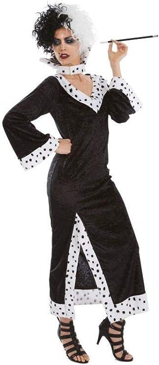 Chaks - C4173S - Disfraz para adulto de Cruella de Vil (101 ...