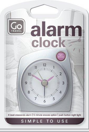 Design Go Go Travel Alarm Call, Silver