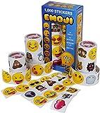 1000 stickers roll - Kangaroo Emoji Universe: Mega Sticker Assortment, 1000 Unique Emoji Stickers