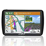 LONGRUF,Car Navigation System, 500CD 7 inch HD Touch Screen&256MB-8GB Real Voice Broadcast Navigation Syetem with Lifetime Map Free Update