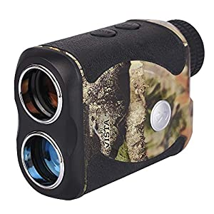 Wosports Rechargeable Hunting Rangefinder, 800 Yards USB Charging Laser Rangefinder Support Vibration,Continuous Scan,Distance Speed Measurement by Wosports