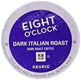 Eight O'Clock Coffee, Dark Italian Roast K-Cups, 24-Count, 3.69kg