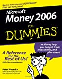 Microsoft Money 2006 for Dummies, Peter Weverka, 0764599534