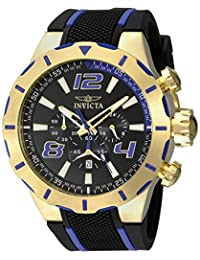 Invicta Men's 20108 S1 Rally Analog Display Japanese Quartz Black Watch
