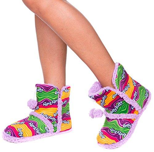 Nestle Womens Plush Slipper Boots