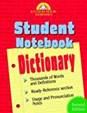 Random House Webster's Student Notebook Dictionary, Random House Dictionary Staff, 0375720286