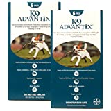 12 MONTH K9 ADVANTIX Teal (for dogs 1120lbs)