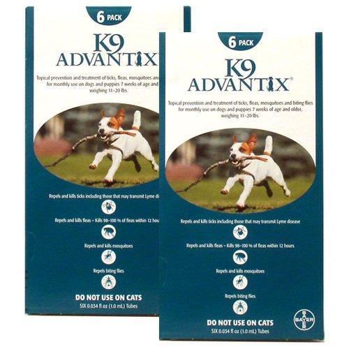 12 MONTH K9 ADVANTIX Teal (for dogs 1120lbs) by K-9 Advantix