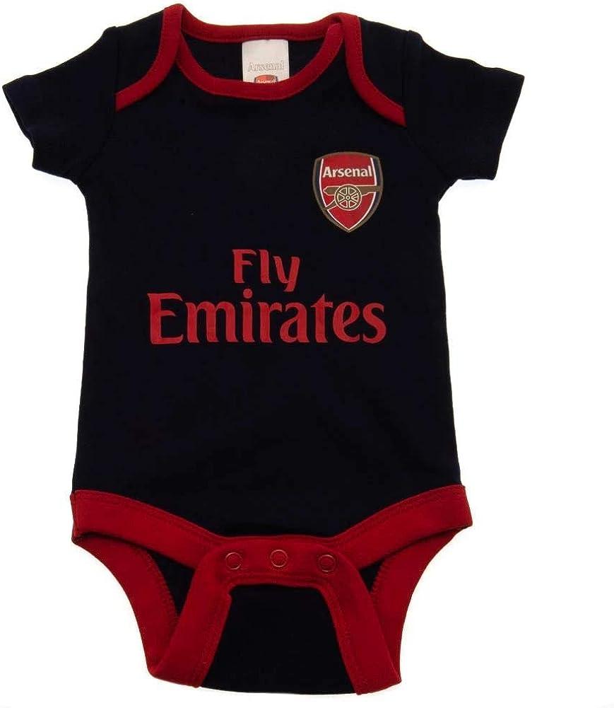 Arsenal F.C 2PK Baby Bodysuit 12-18 Months