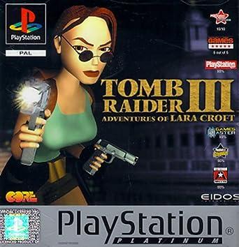 Amazon Com Ps1 Pal Tomb Raider 3 Video Games