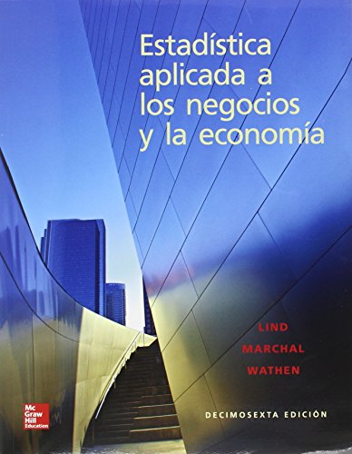 Book cover from ESTADISTICA APLICADA A NEGOCIOS 16 E by Lind A. Douglas/Marchal G. William/Wathen S.