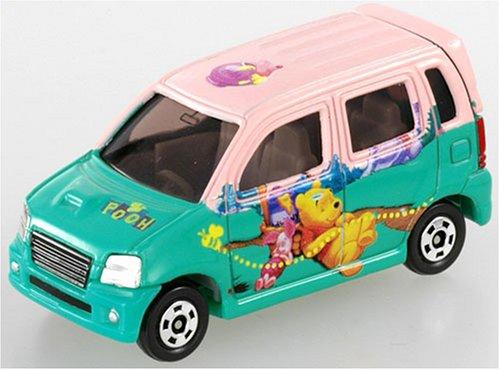1/56 スズキ ワゴンR RR くまのプーさんR(グリーン×ピンク) 「ディズニー トミカコレクション D-04」の商品画像