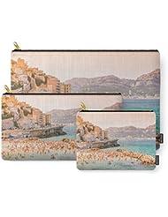 Society6 Summer - Beach - Marseille - France Carry-All Pouch