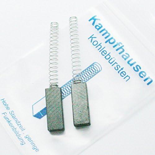 Escobillas de carbón para aspiradora Vorwerk Kobold VK 117, 118 ...