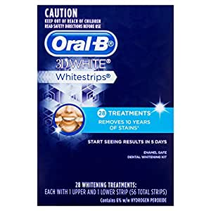 Oral-B® 3D White® Whitestrips® 28 Treatments