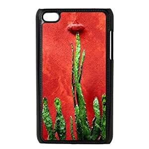 catus plants green red Ipod Touch 4 Case Black