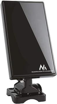 Maclean MCTV-970 Black - Antena TV DVB-T Regulable HDTV Interior/Exterior UHF VHF
