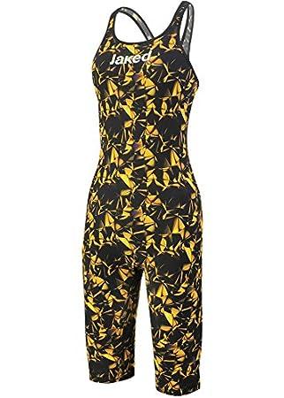 Jaked Limited Edition J Katana Racer Back Swimming Costume Black